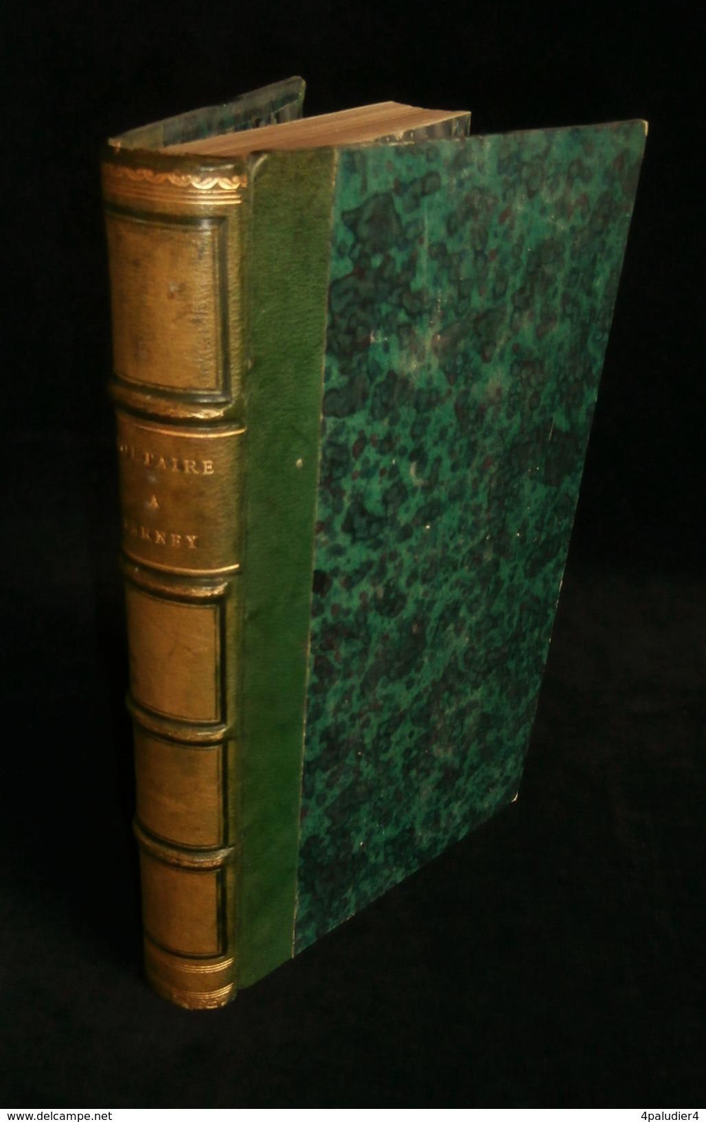 (Ferney-Voltaire Ain )  VOLTAIRE A FERNEY, Correspondance Avec La Duchesse Saxe-Gotha Evariste BAVOUX 1860 - Rhône-Alpes