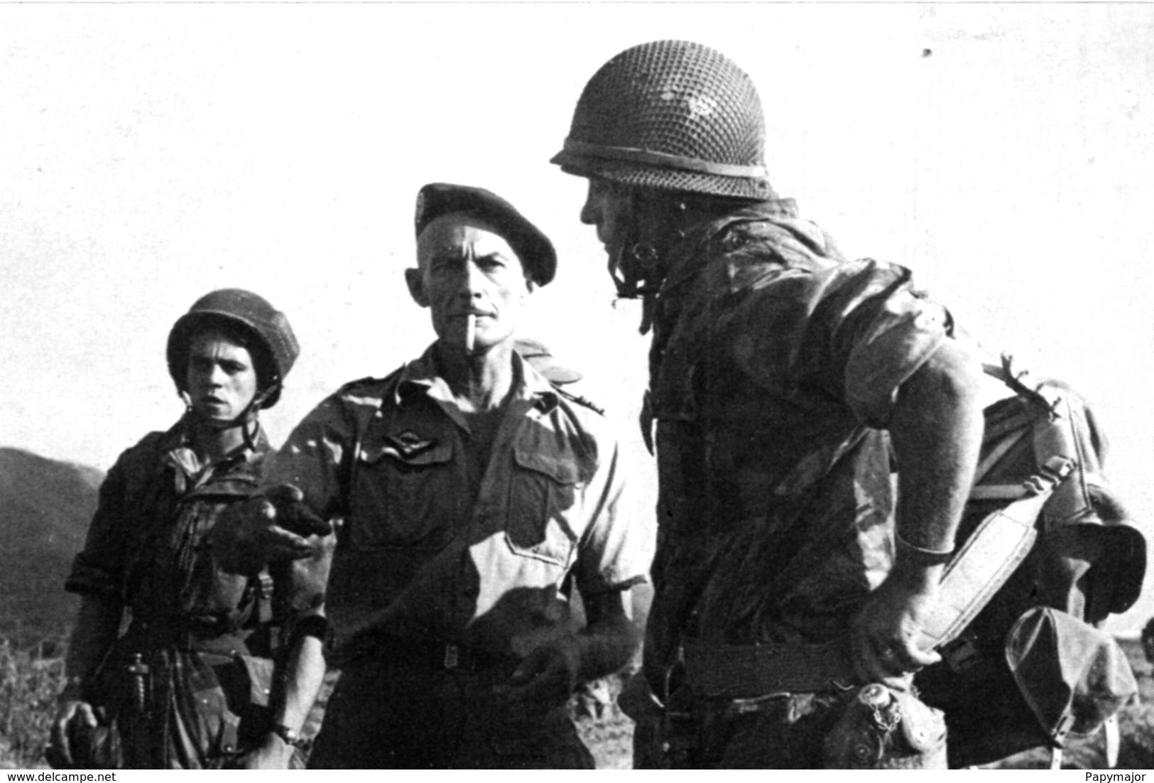 Militaria Indochine - Dien Bien Phu - Le Colonel Langlais - Documenti