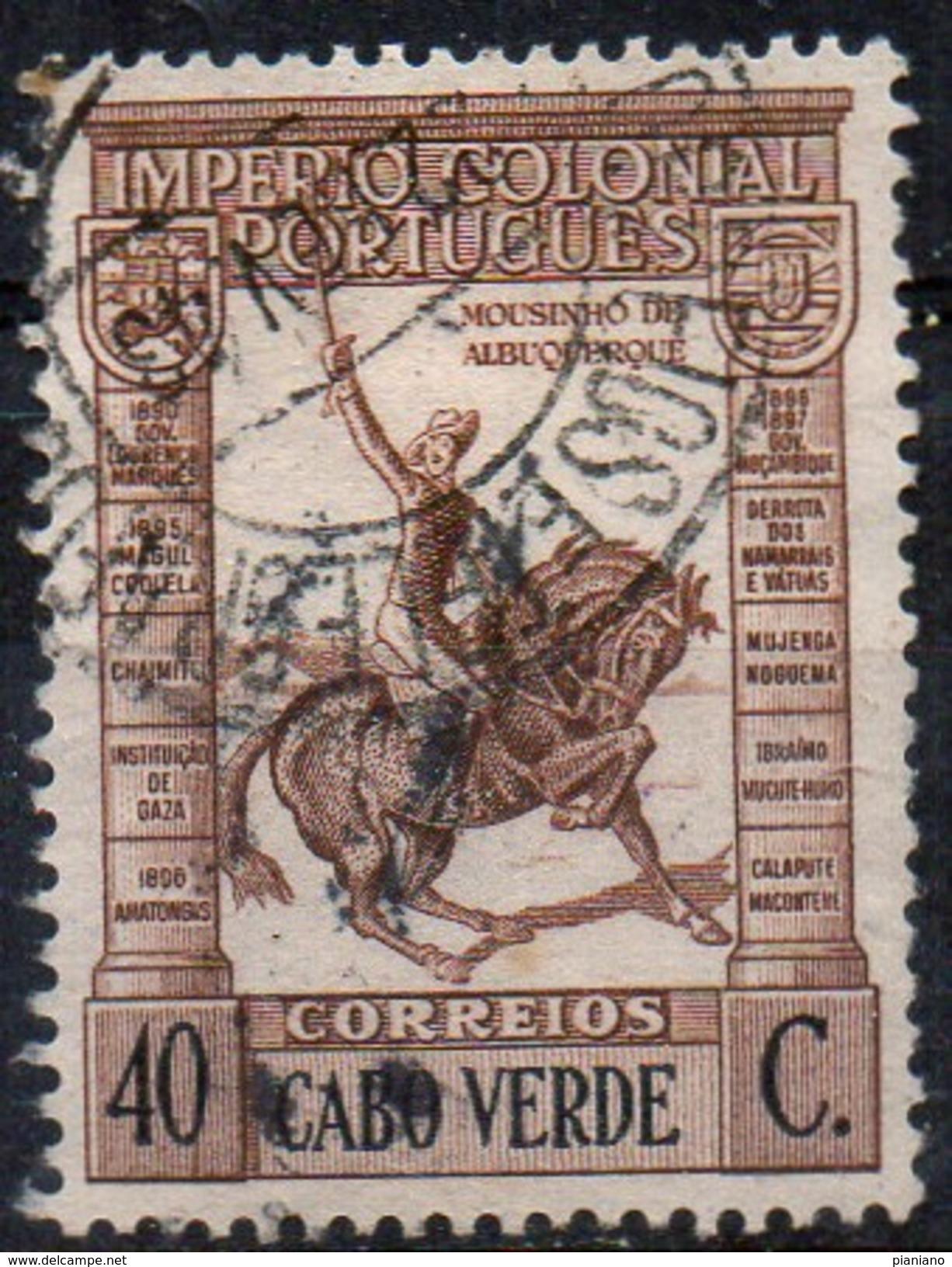 PIA - ANGOLA - 1938-40  - Tipo Dei Francobolli Di Angola : J.Mousinho De Albuquerque  - (Yv  234) - Angola