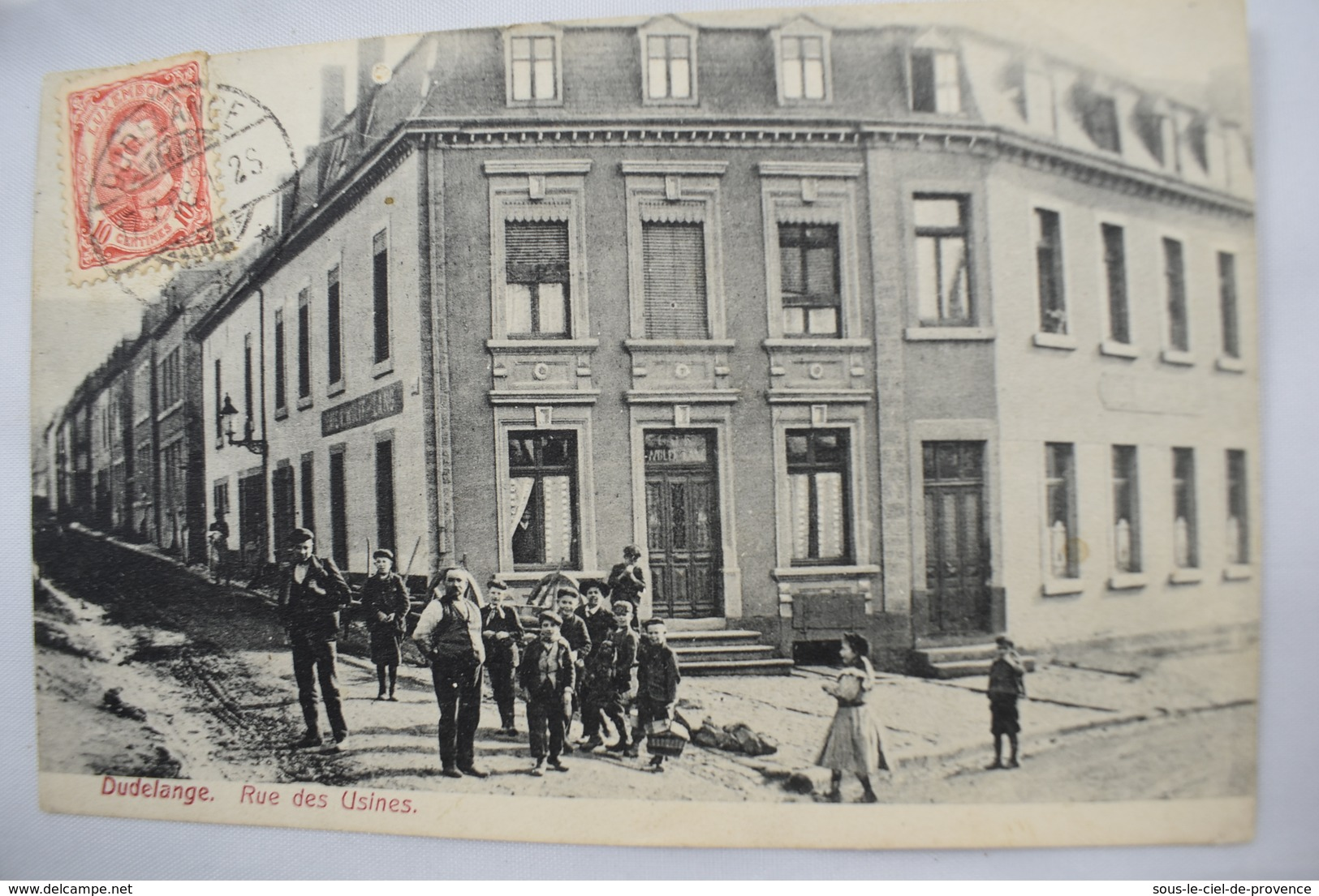 CPA DUDELANGE RUE DES USINES GRAND DUCHE DE LUXEMBOURG - Dudelange