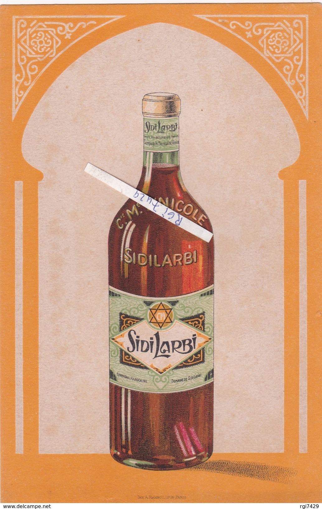 Buvard---compagnie Marocaine Vinicole ---sidi Larbi - Non Classificati