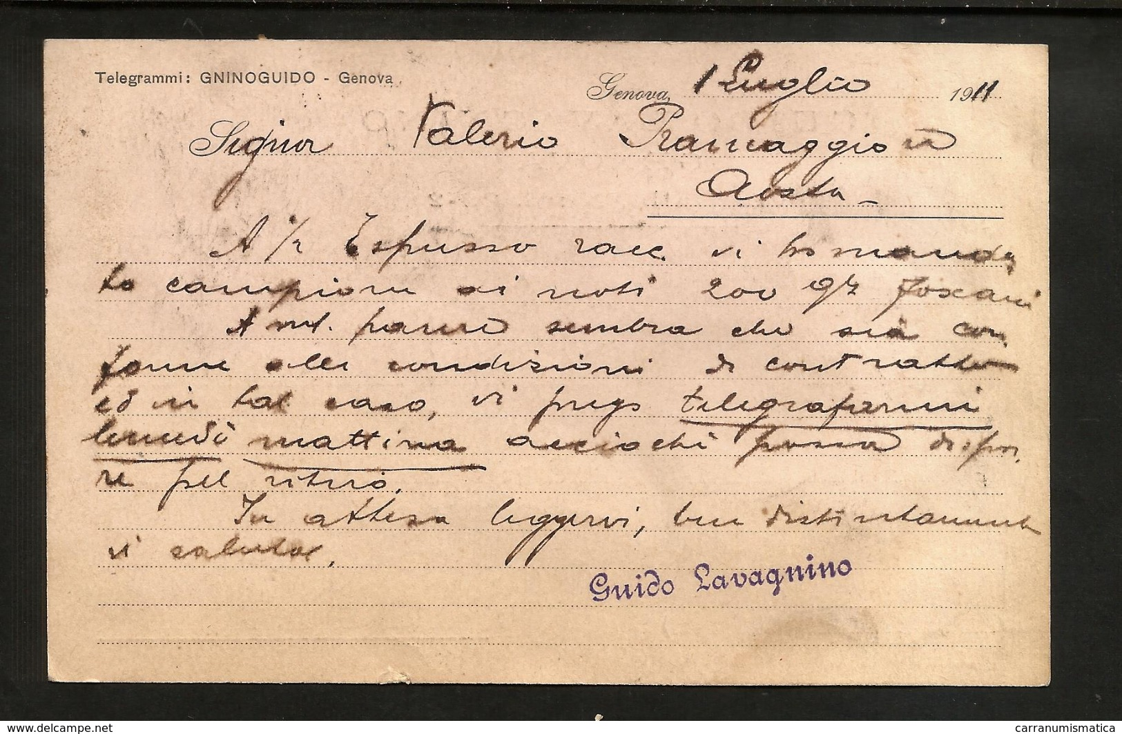 CATOLINE POSTALI  - Lotto Di 2 Con Francobollo Espresso / Inizio XX° Secolo - 1900-44 Vittorio Emanuele III
