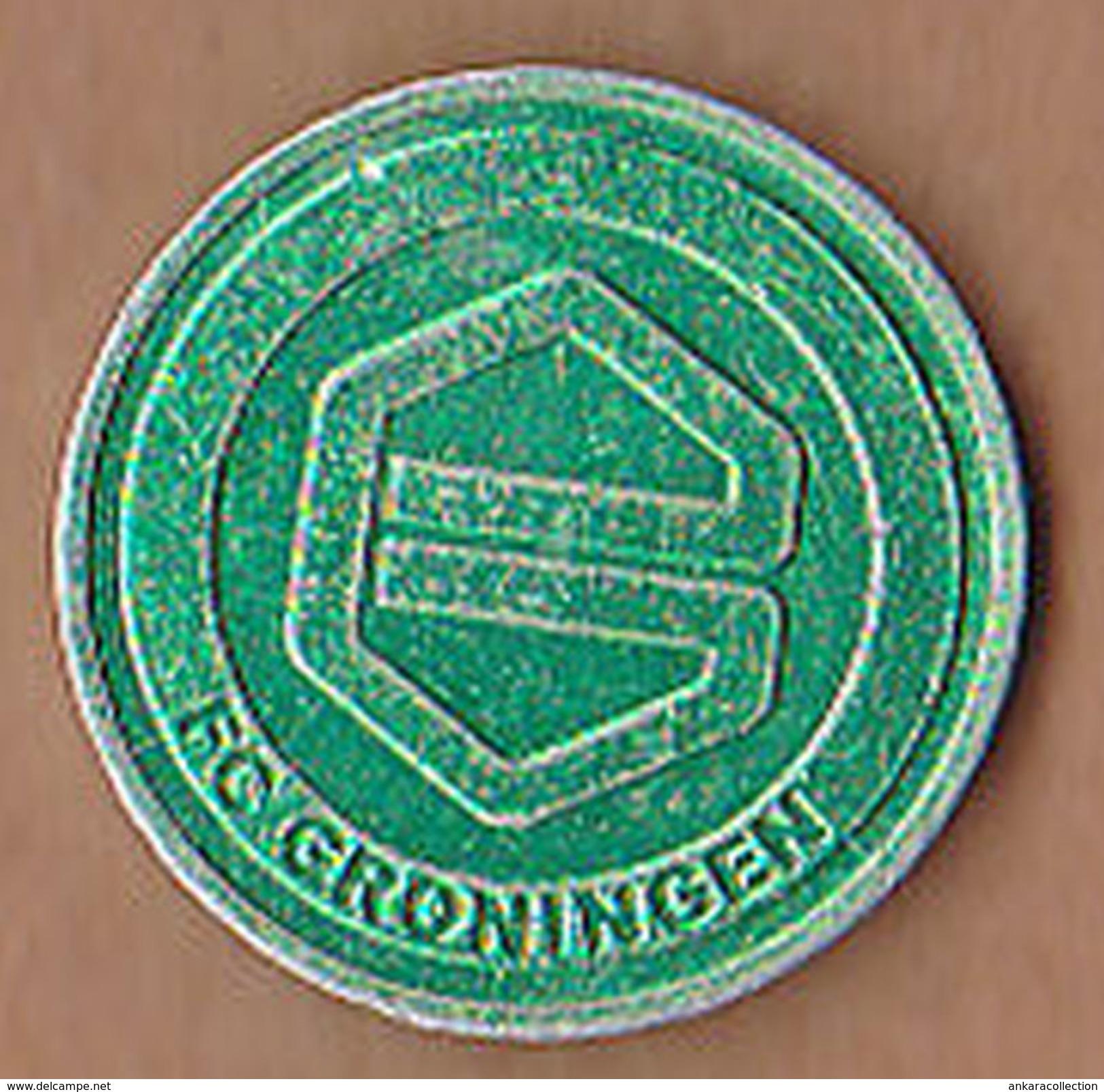 AC -  FC GRONINGEN NEDERLANDS - HOLLAND FOOTBALL SOCCER CLUB TOKEN JETON - Noodgeld