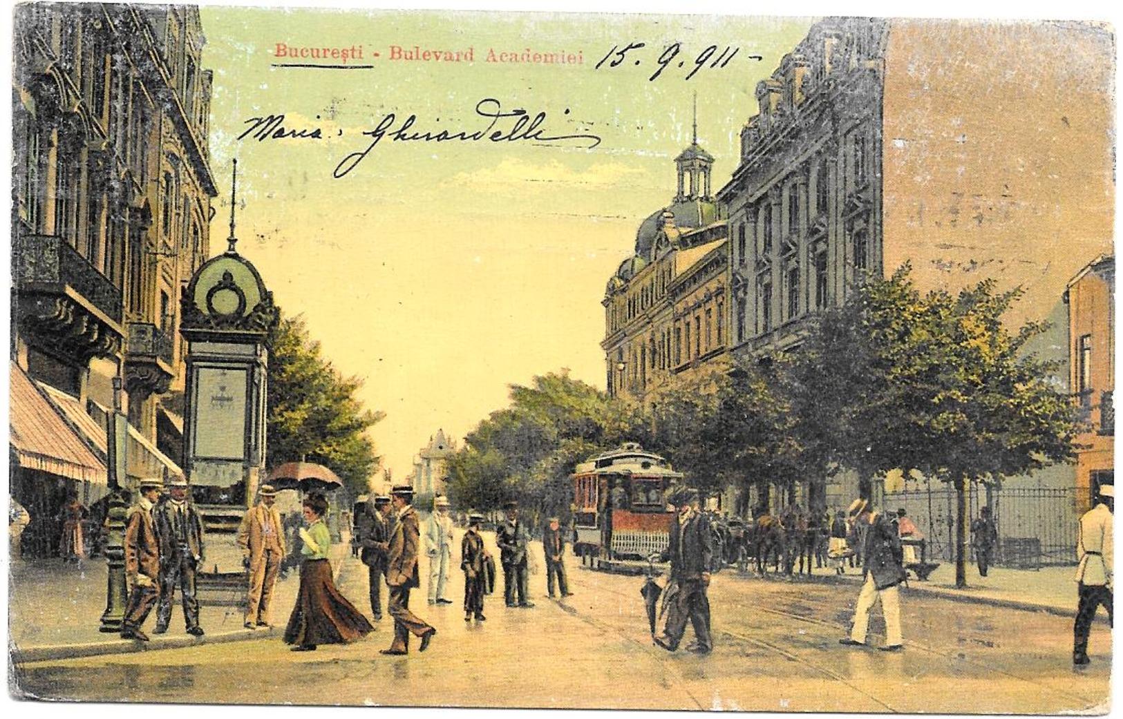 Romania  -  Bucarest  1911 - Romania