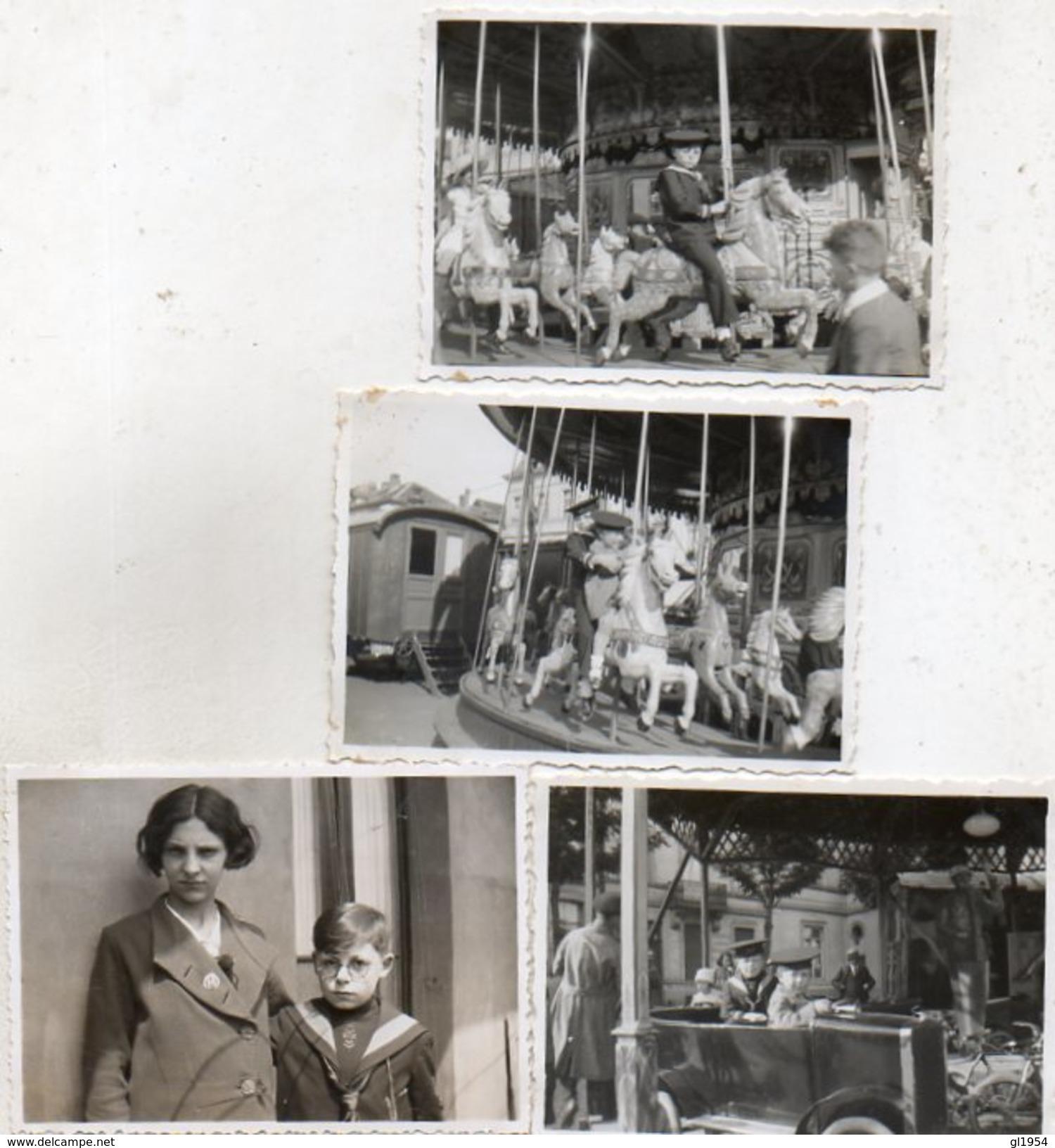 UIT MOLENBEEK  _  OP DE  KERMIS     _  8.50 OP 6  CM  _  UIT  1933 - Fotos