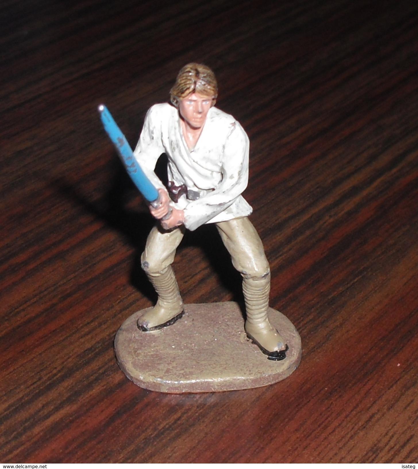 Figurine Star Wars En Plomb Éditions Atlas N°2 - Luke Skywalker - Episode I