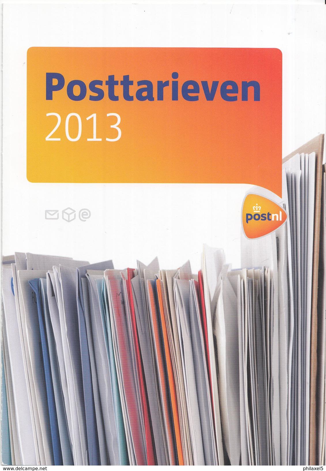 Nederland - Postnl - Brochure Tarievenlijst Januari 2013 - 6 Pagina's - Nieuw Exemplaar - Tarifa De Correos