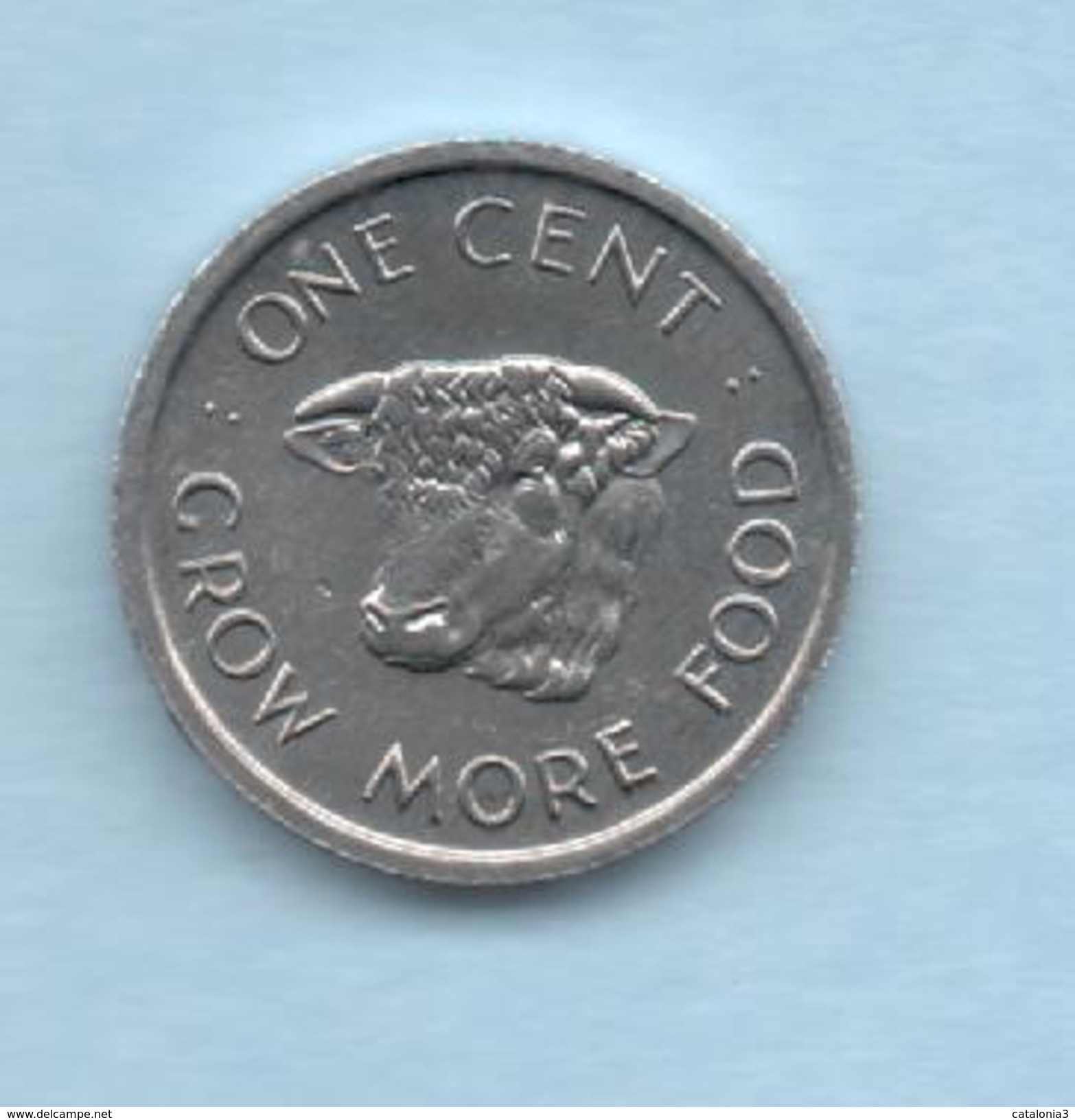 SEYCHELLES - 1 Cent 1972 SC  KM17  FAO - Seychelles