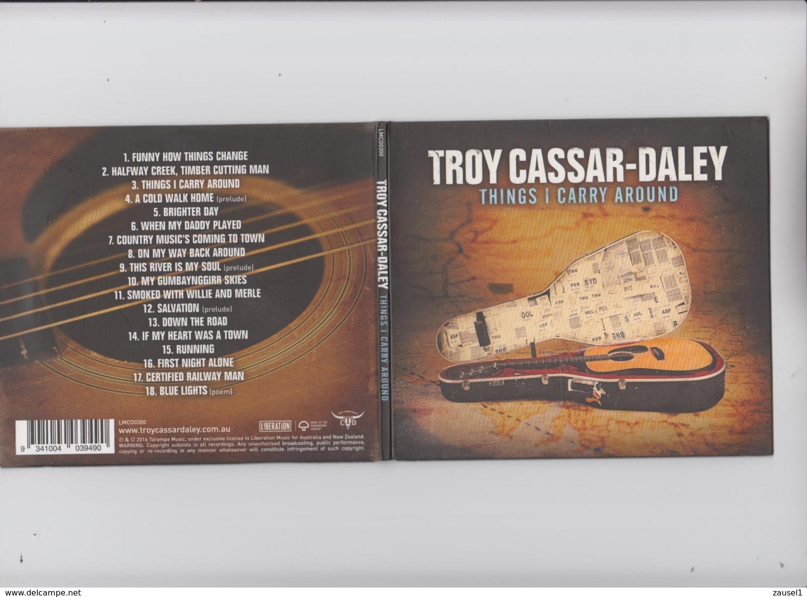 Troy Cassar-Daley - THINGS I CARRY AROUND - Original CD 2016 - Country & Folk