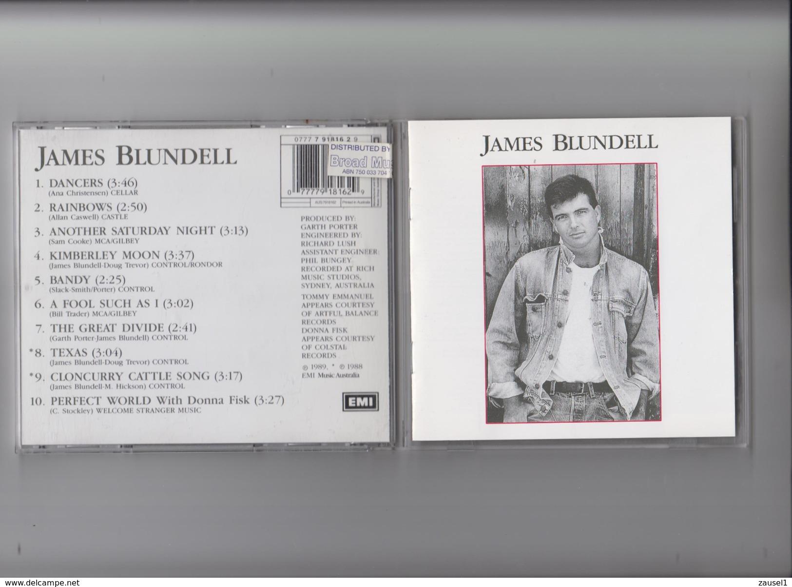 James Blundell - SAME - Original CD - Country & Folk