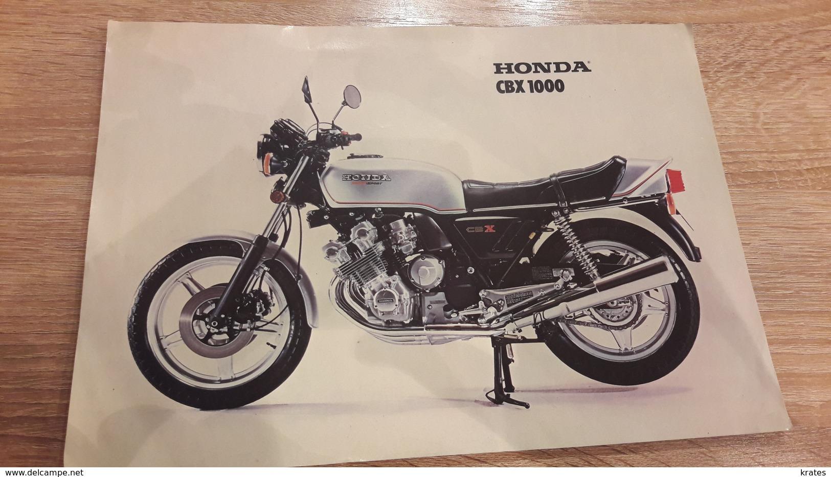 The Old Poster - Honda CBX 1000 - Non Classificati