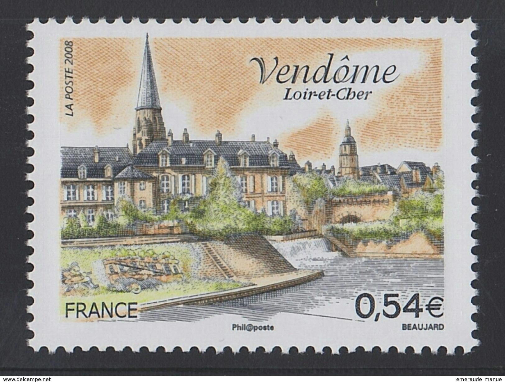 2008 - TIMBRE NEUF - Vendôme (Loir-et-Cher) - N° YT : 4143 - Ungebraucht