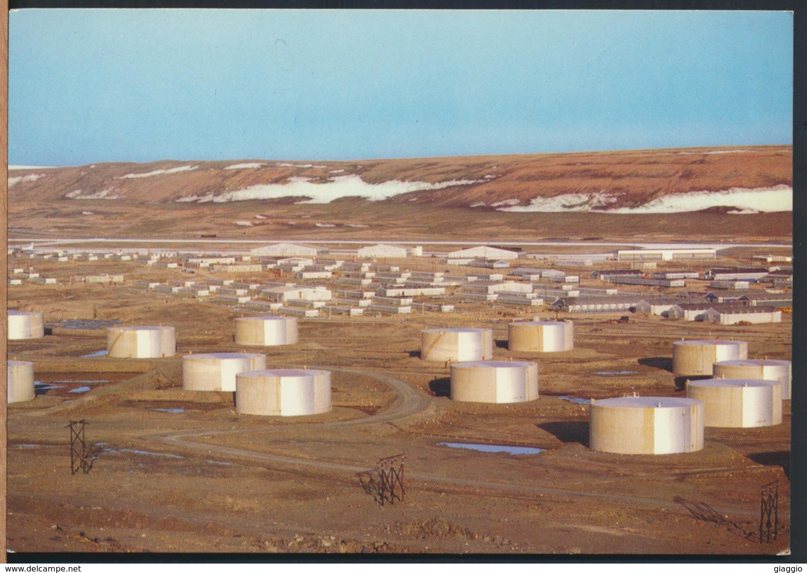 °°° 2090 - GREENLAND GRONLAND - THULE AIR BASE °°° - Groenlandia
