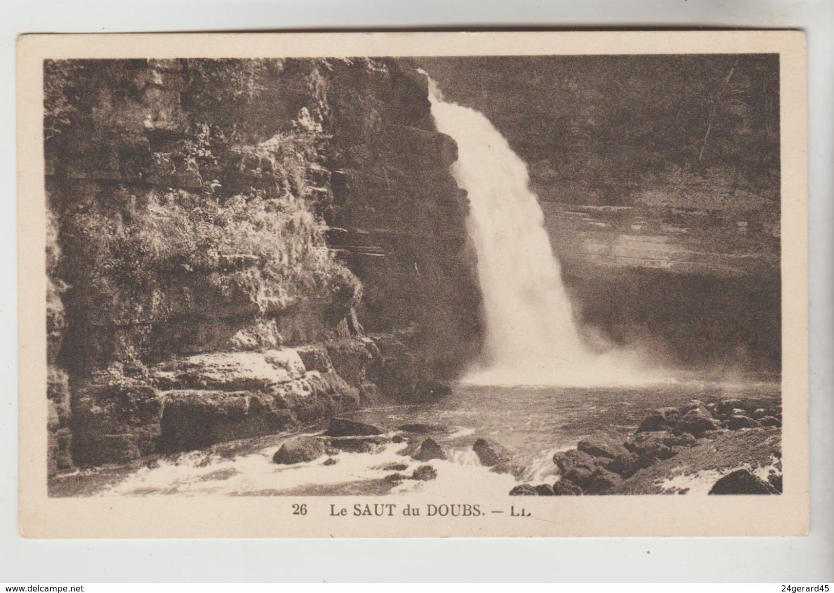 2 CPSM NATURE EAU CASCADE - Le Saut Du Doubs, NICE : Cascade Du Château - Postales