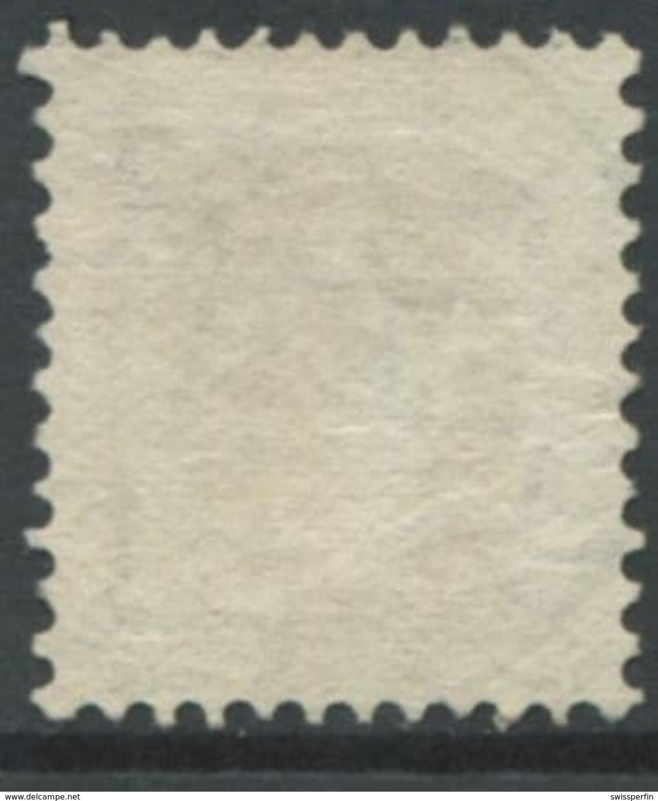 1610 -  40 Rp. Stehende Helvetia Gestempelt - SBK Katalogwert CHF 300.00 - 1882-1906 Wappen, Stehende Helvetia & UPU