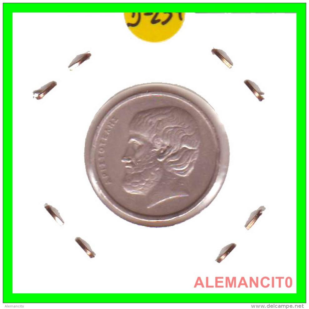 GRECIA -  GREECE  MONEDA  --  DE  5  DRACHMAI  AÑO 1978  -   Copper-Nickel, 22,5 Mm. - Grecia
