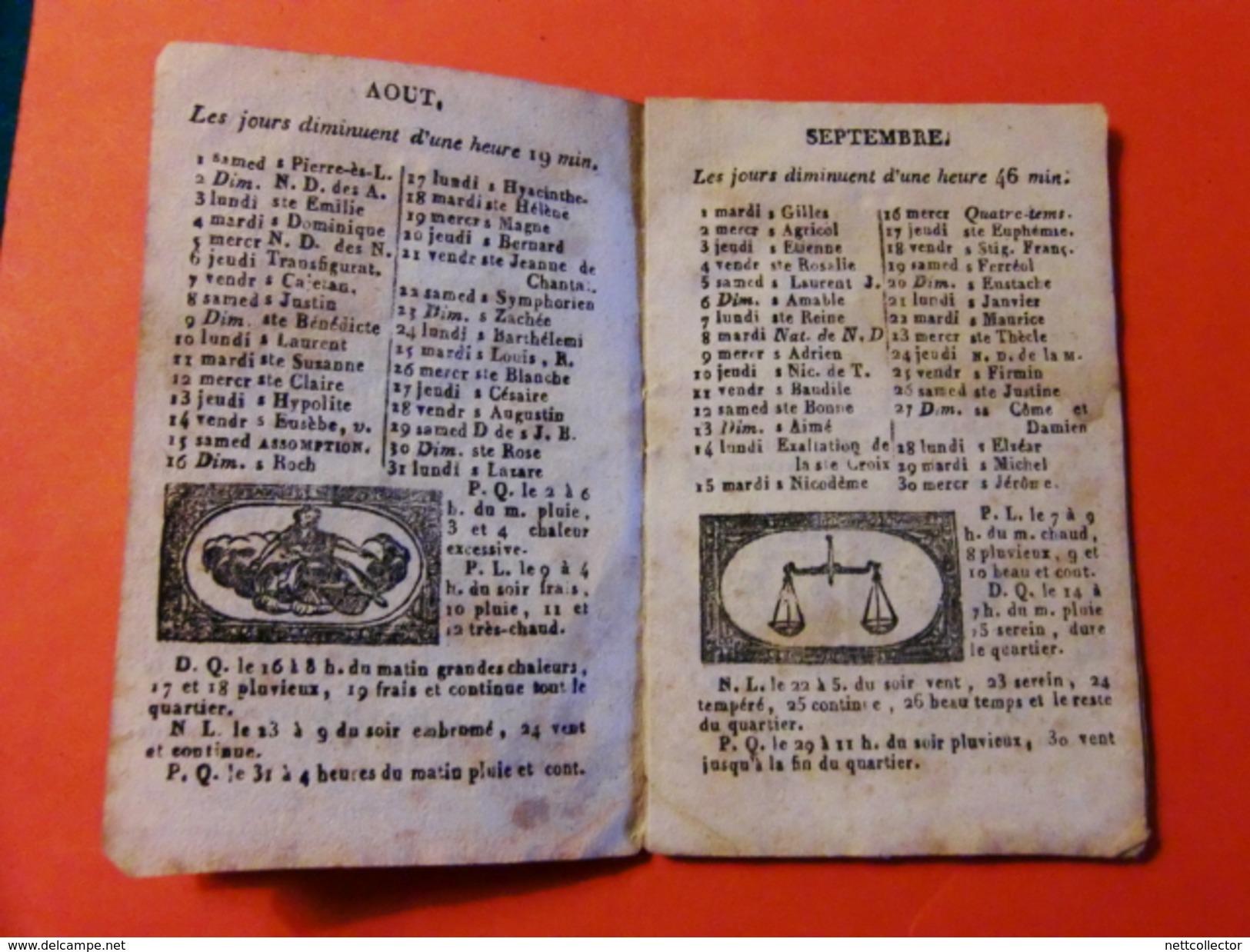 FACTURES/ ETIQUETTES/ AFFICHES ANCIENNES/ ALMANACH 18è/19è SIECLES Sur Le THEME DE LA PAPETERIE RARE - Frankreich
