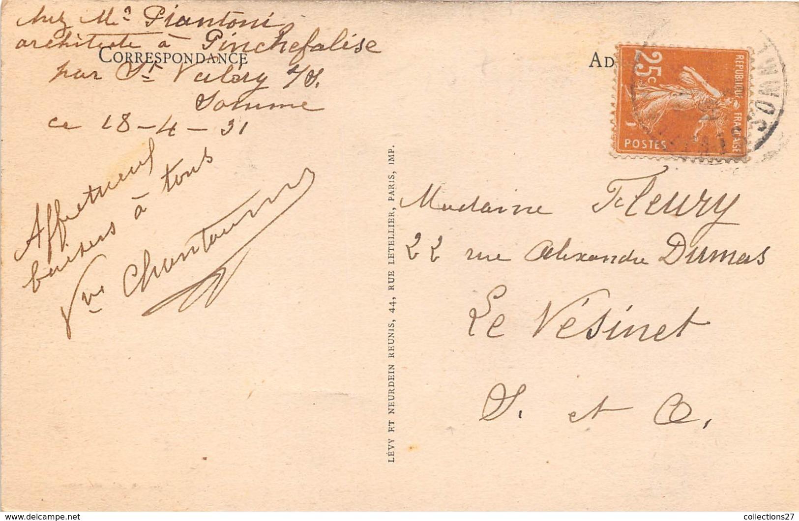 80-SAINT-VALERY-SUR-SOMME- VUE SUR LE FOND DE LA BAIE DE LA SOMME, PRISE DE LA TOUR DU VIEUX CHÂTEAU - Saint Valery Sur Somme