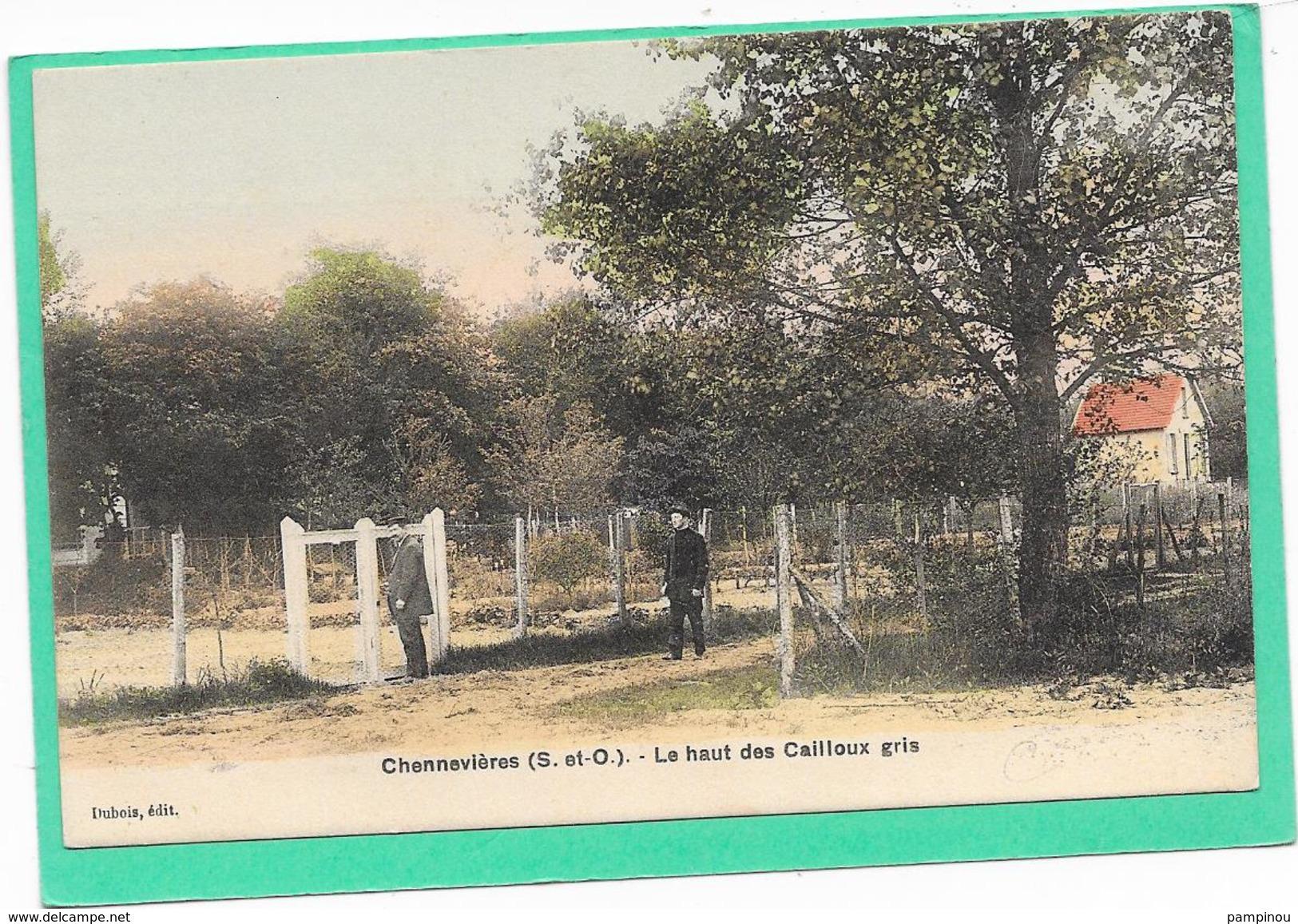 78 CONFLANS - CHENNEVIERES - Le Haut Des Cailloux Gris - Animée - Conflans Saint Honorine
