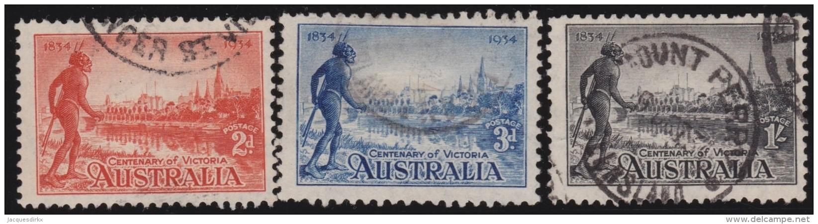 Australia       .       SG     .      147/149    .       O        .    Gebruikt    .    /    .     Cancelled - 1913-36 George V : Andere
