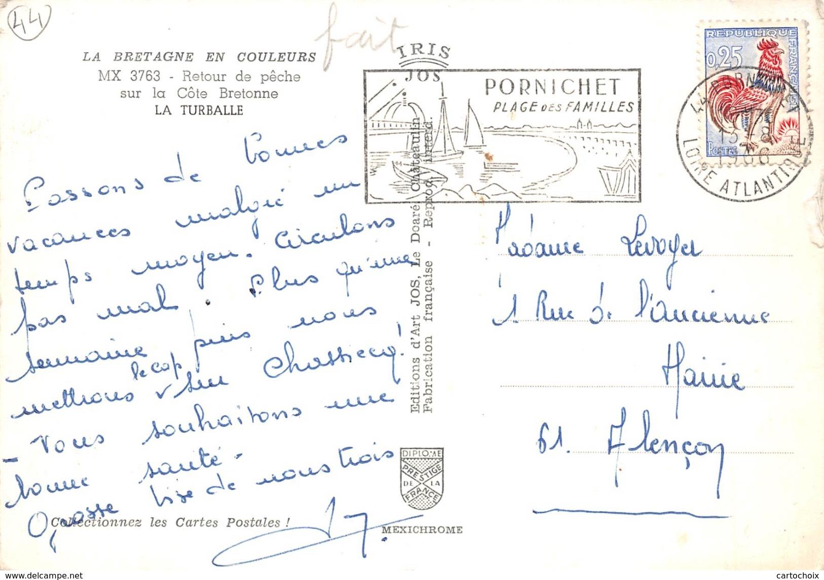 44 - La Turballe - Retour De Pêche Sur La Côte Bretonne - La Turballe