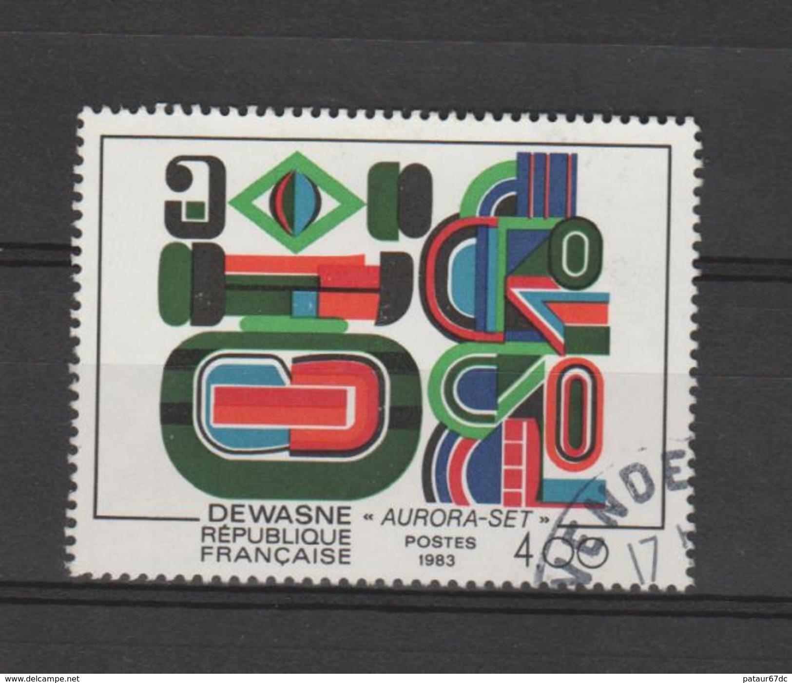 """FRANCE / 1983 / Y&T N° 2263 : """"Aurora-set"""" (DEWASNE) - Choisi - Cachet Rond - France"""