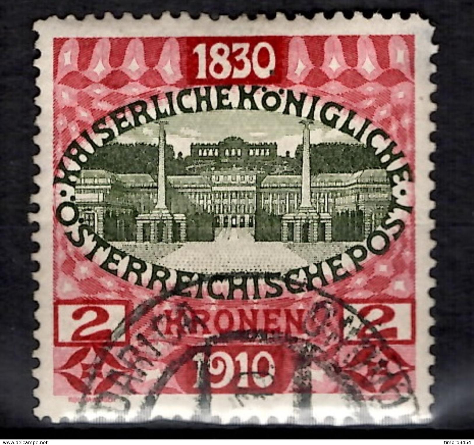 Autriche YT N° 133 Oblitéré. B/TB. A Saisir! - 1850-1918 Empire