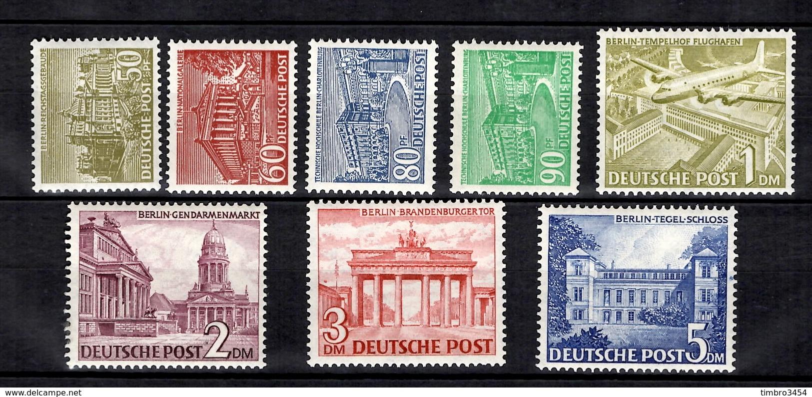 Berlin YT N° 39/46 Neufs ** MNH. TB. A Saisir! - Berlin (West)
