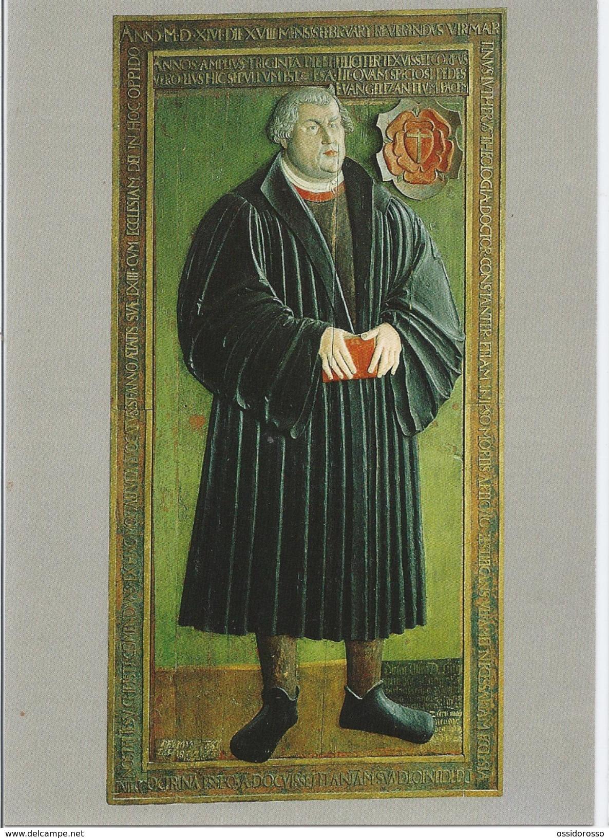 Modell Der Grabplatte Martin Luthers - -Model Of Martin Luther's Grave - Andreaskirche Erfurt - Erfurt