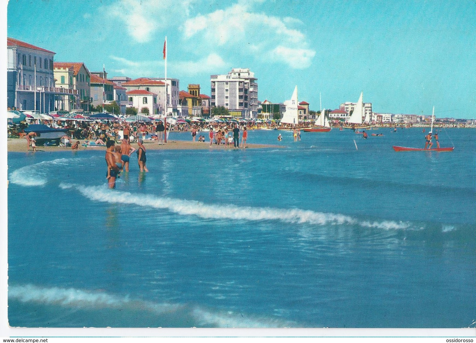 Viserba - Rimini -  1960 -  Veduta Dal Mare - Rimini