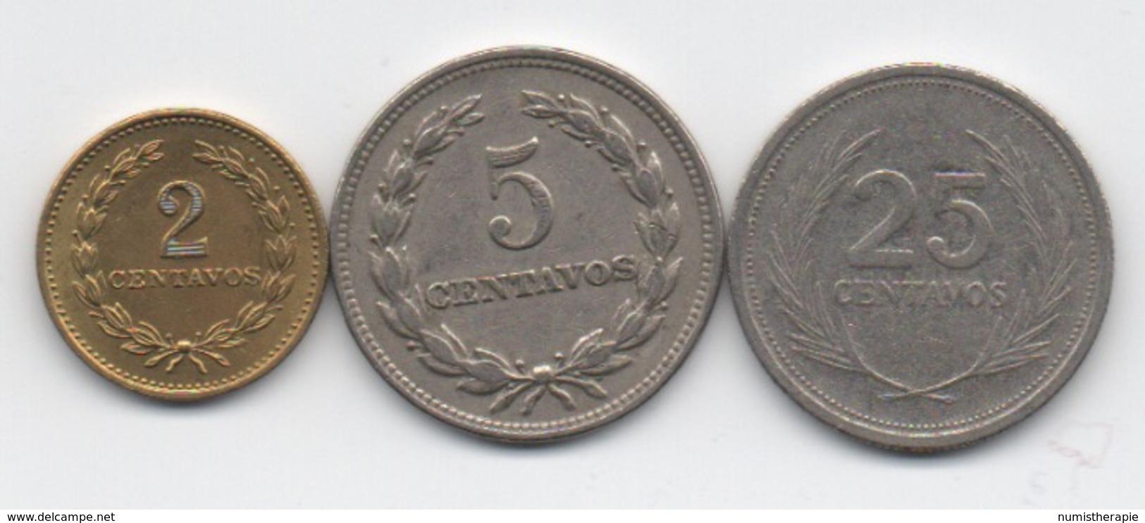 Salvador : Lot De 3 Pièces 1972-1992 - Salvador