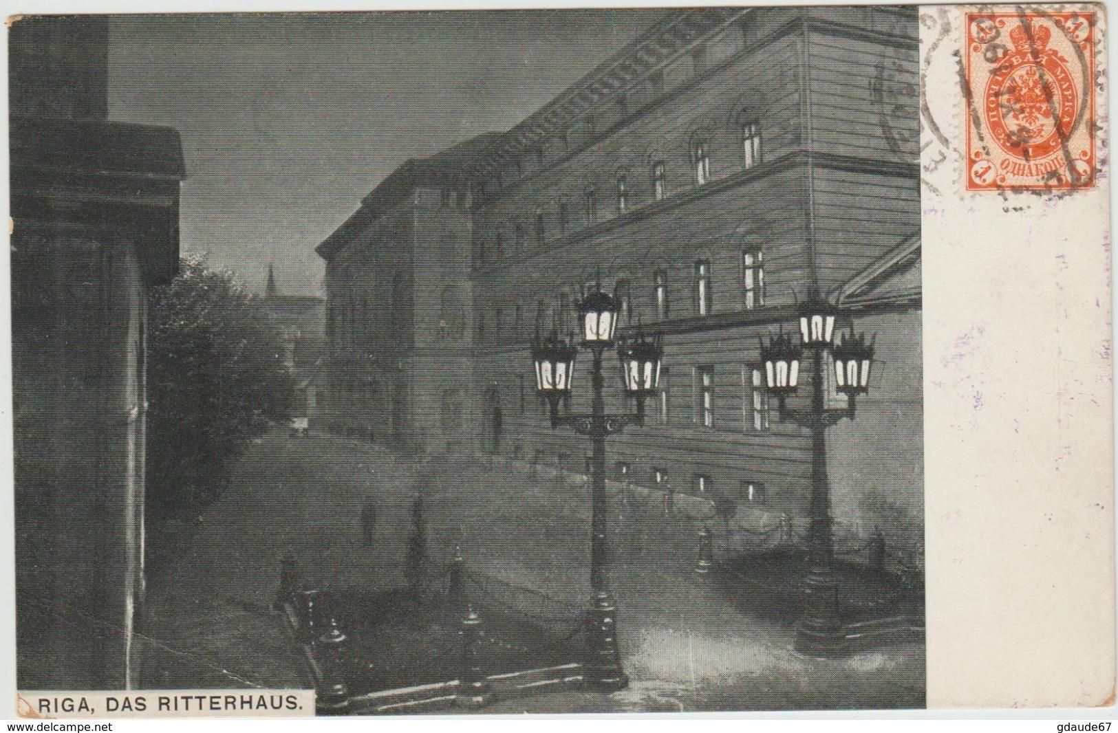 RIGA (LETTONIE) - DAS RITTERHAUS - Lettonie