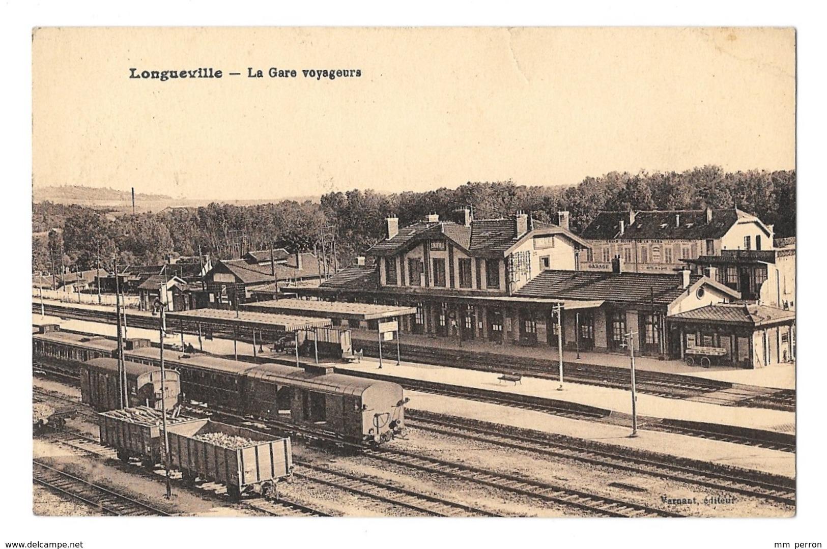 (13474-77) Longueville - La Gare Voyageurs - France