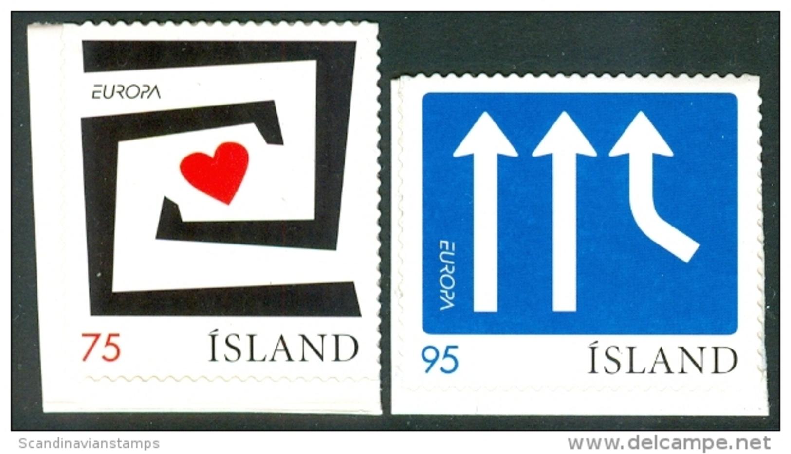 IJSLAND 2006 Europazegels Uit Postzegelboekje PF-MNH - 1944-... Republik