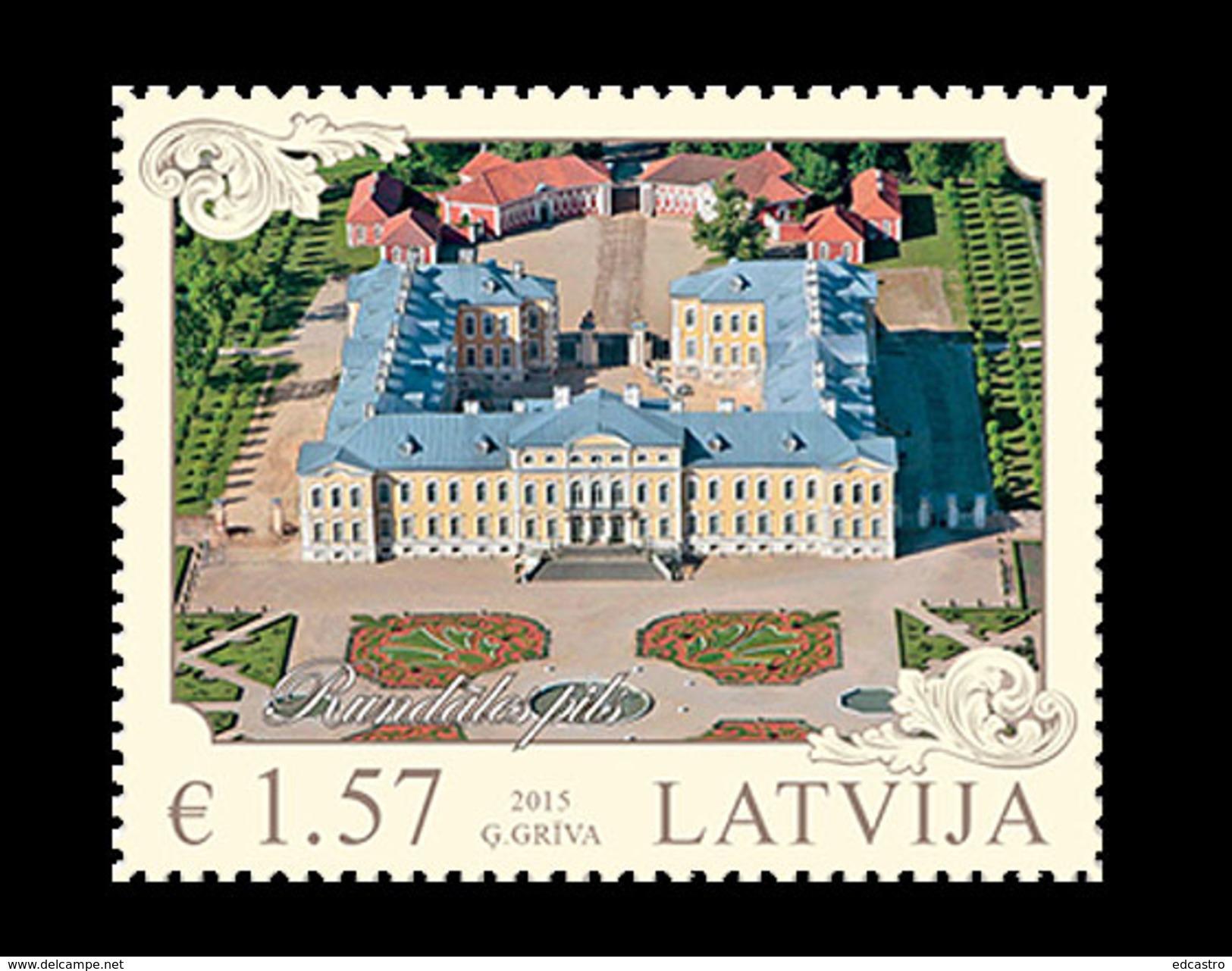 LATVIA 2015 Architecture Of Latvia 2015 - Lithuania