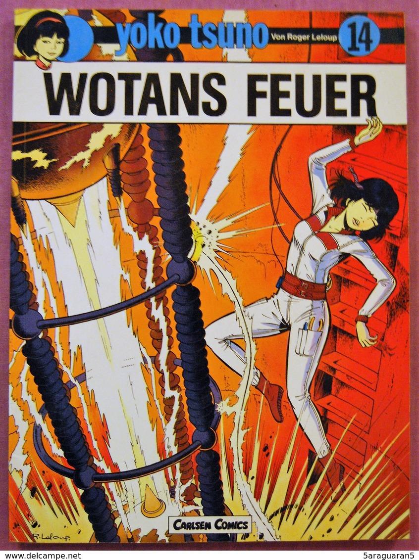 BD YOKO TSUNO - 14 - Wotans Feuer - TBE - Rééd. 1988 - Livres, BD, Revues
