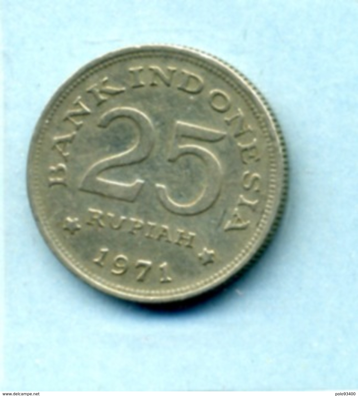 1971  25 Roupie - Indonesia