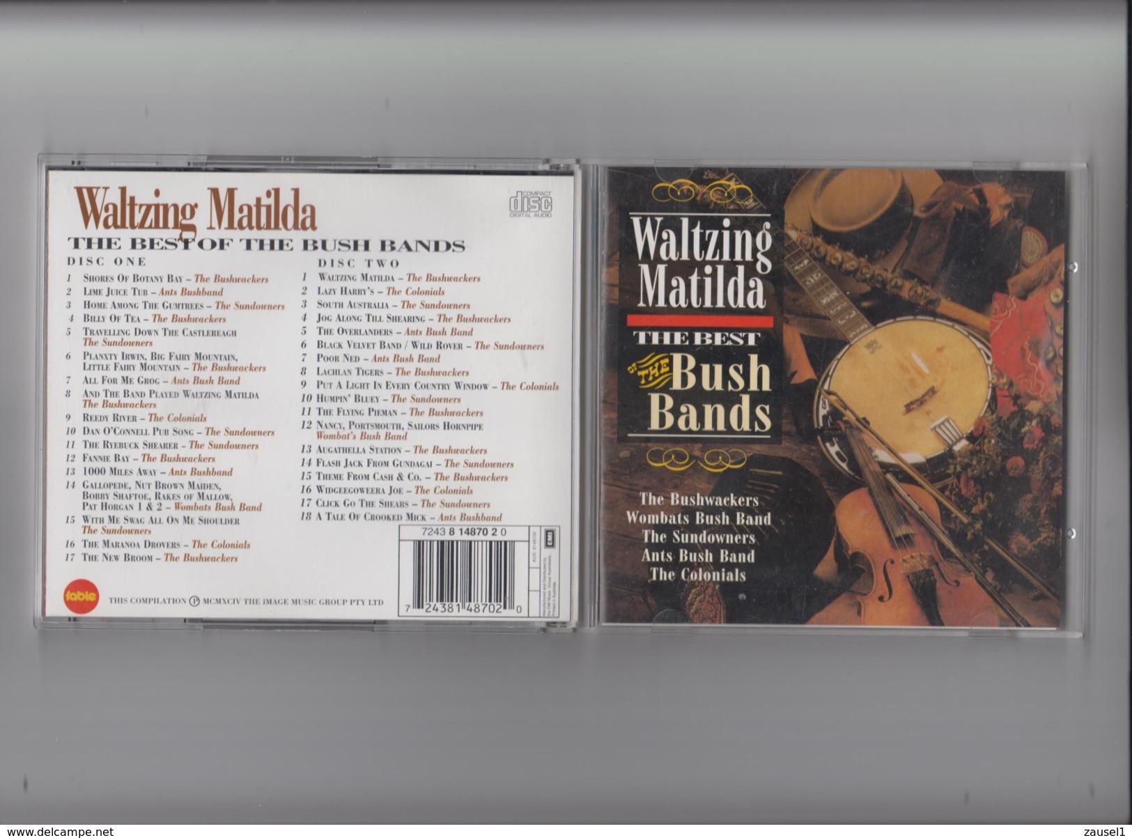 Waltzing Matilda - The Best Bushbands - 2 Original CDs - Titel Ansehen !!! - Country & Folk