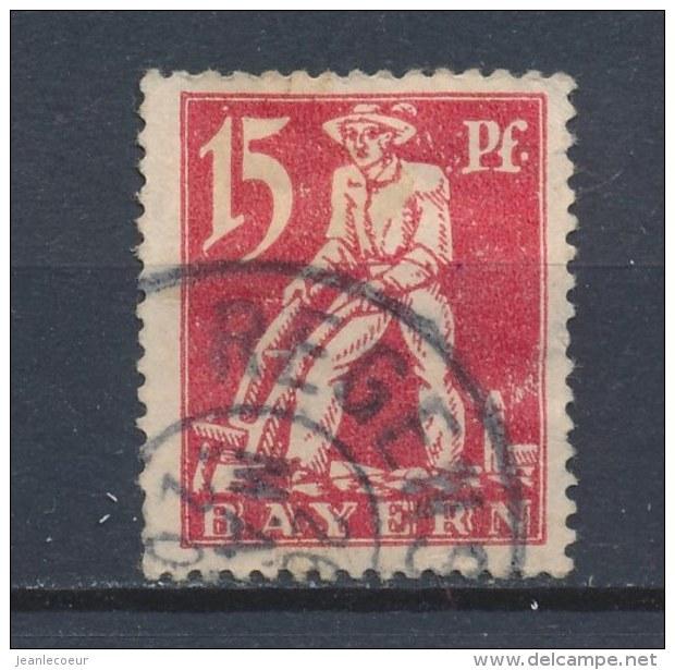 Beieren/Bavaria/Baviere/Bayern 1920 Mi: 180 Yt: 179 (Gebr/used/obl/o)(1676) - Bavière