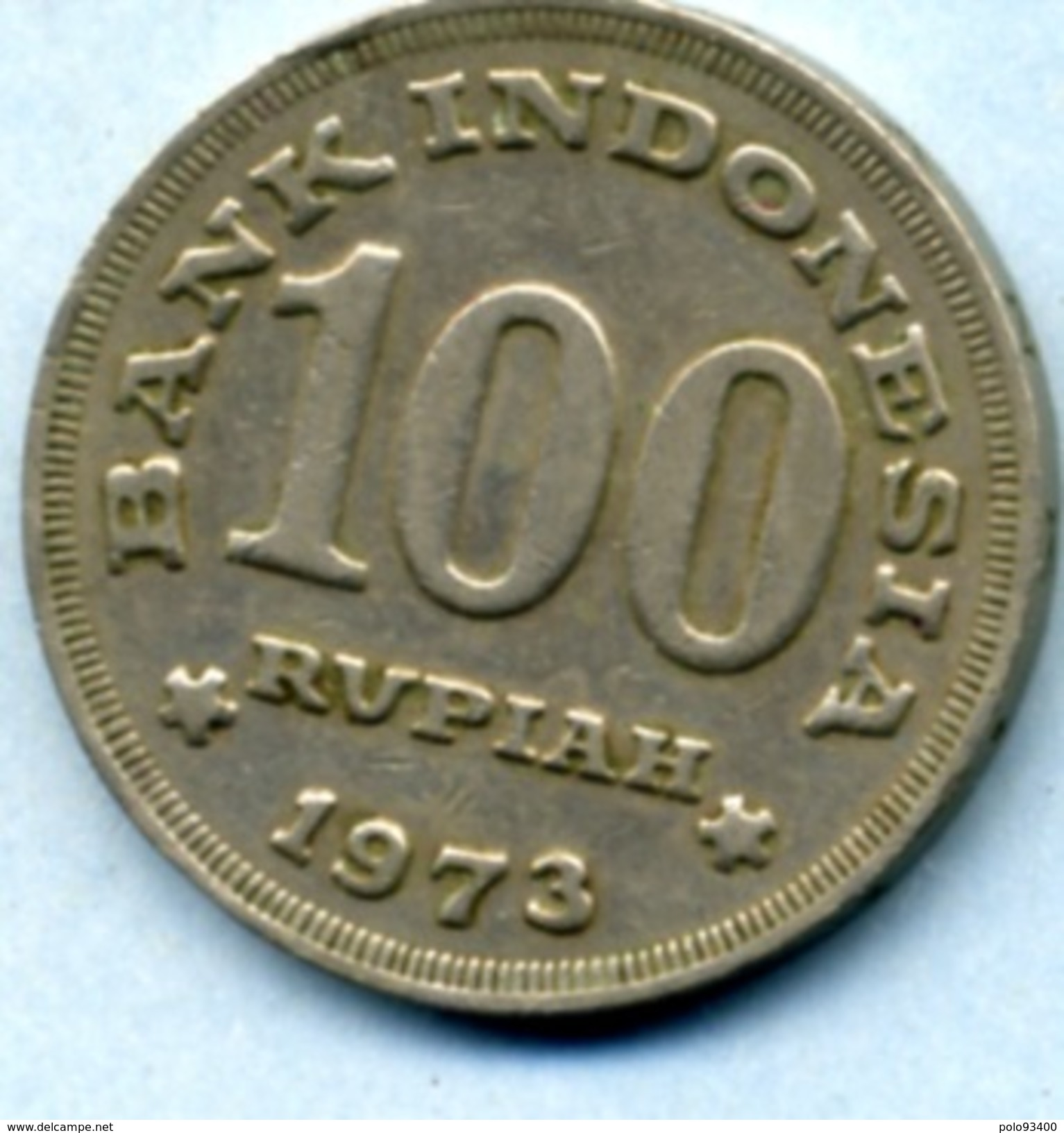 1973 100 ROUPIES - Indonesia