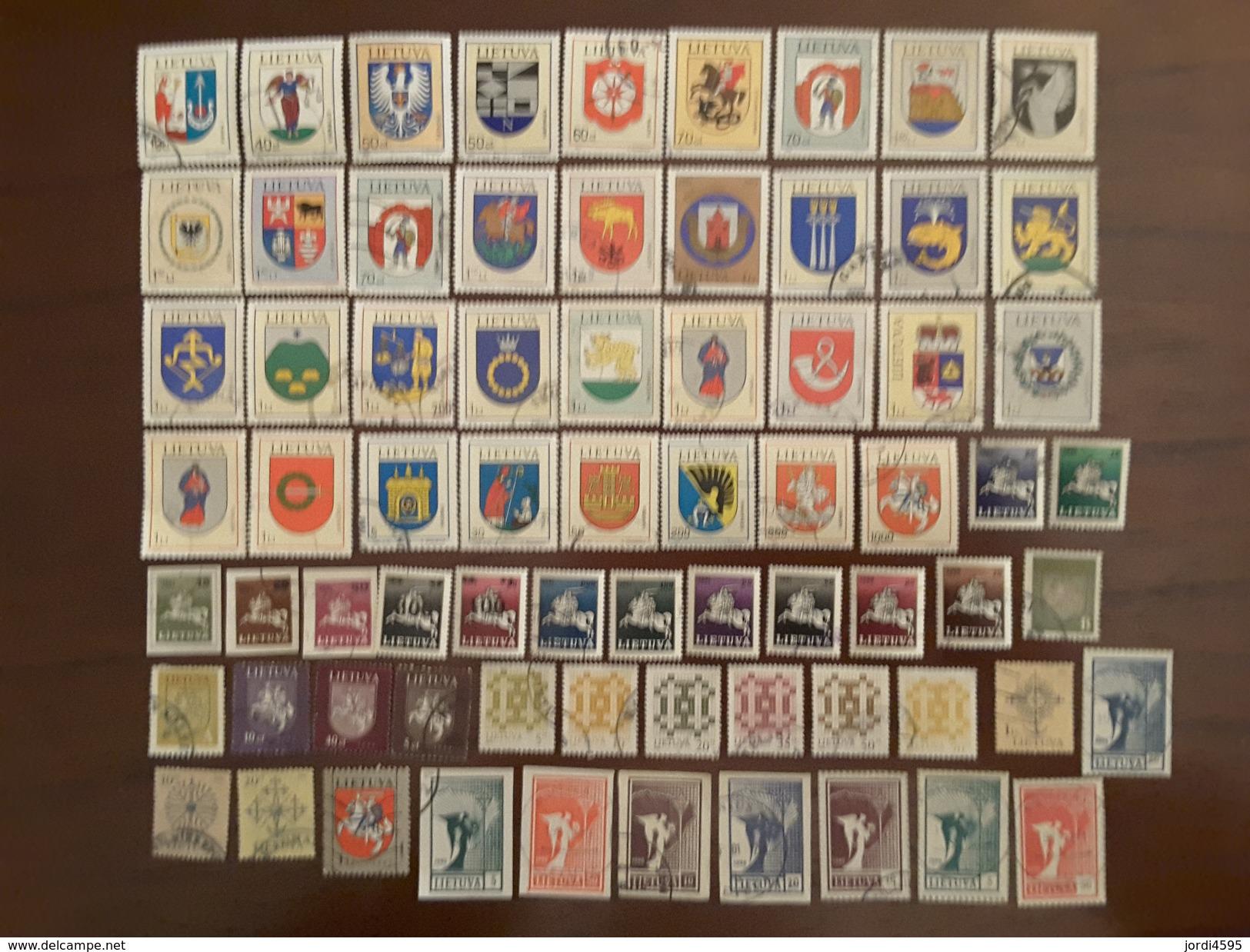 Lituania Used 251 Stamps +  3 Blocks - Lithuania