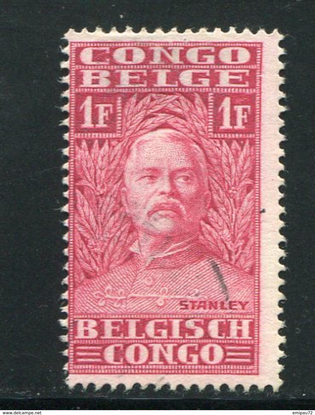 CONGO BELGE- Y&T N°141- Oblitéré - Congo Belge