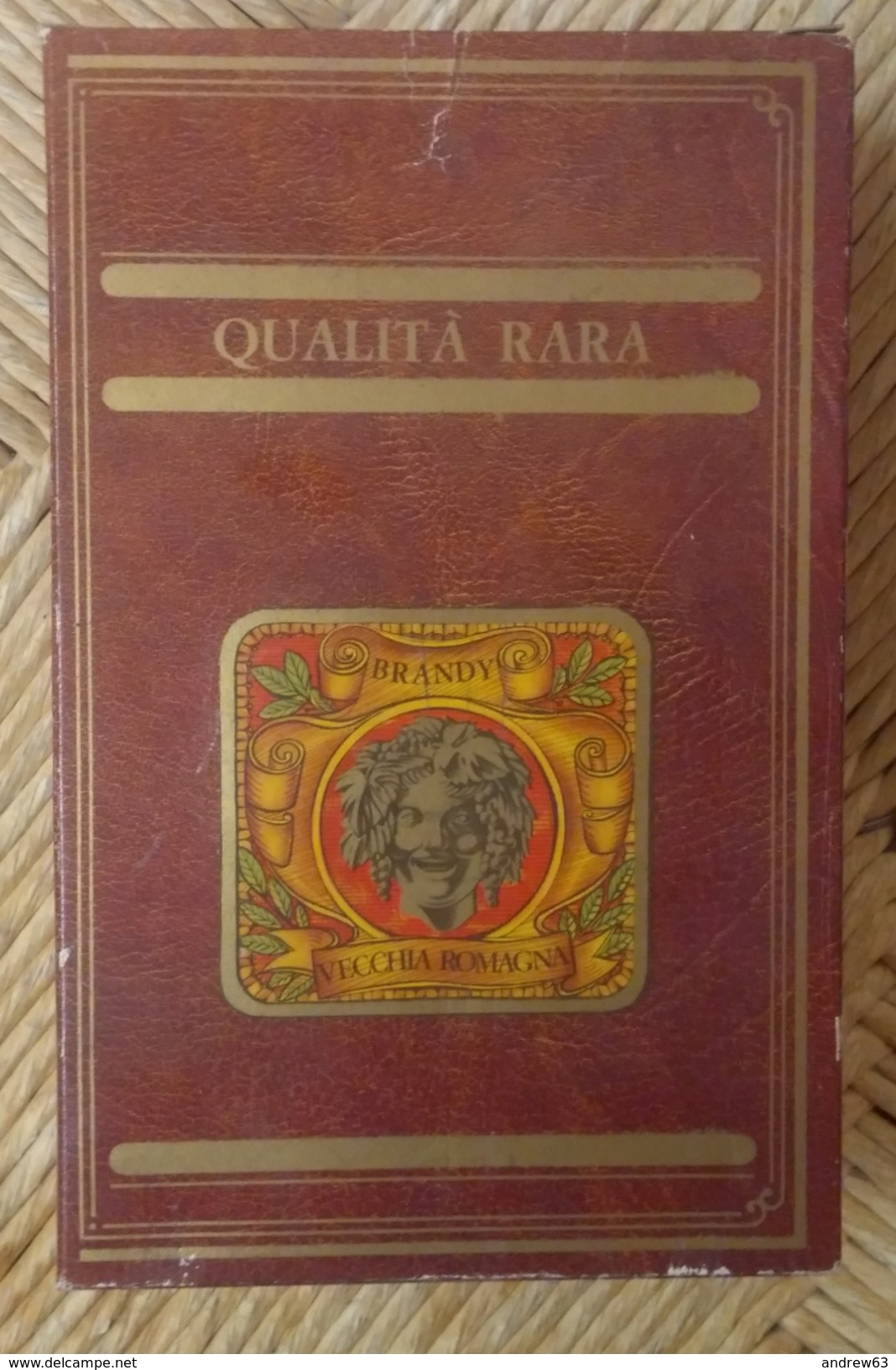 BRANDY VECCHIA ROMAGNA QUALITA' RARA GIO BUTON Lt. 0,750 Gr. 41° + BOX N° 38879 - Spirituosen