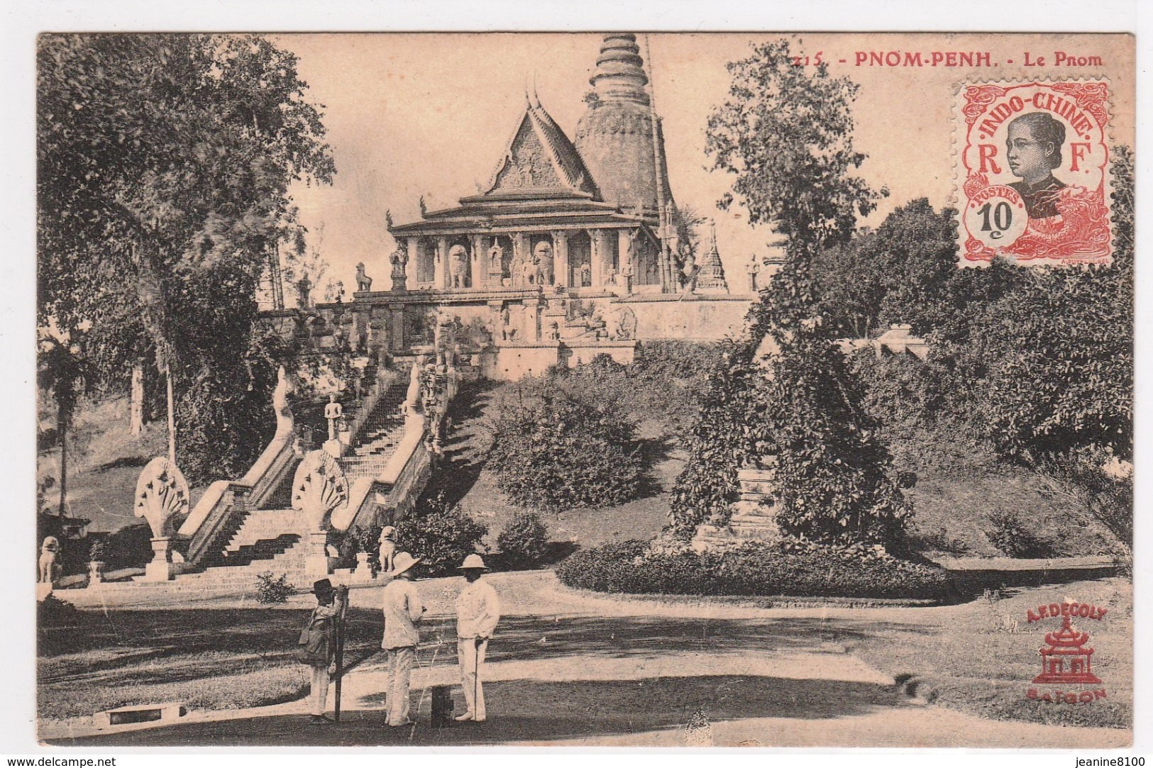 Cambodge -Phnôm - Penh -Le Pnom - Cambodia