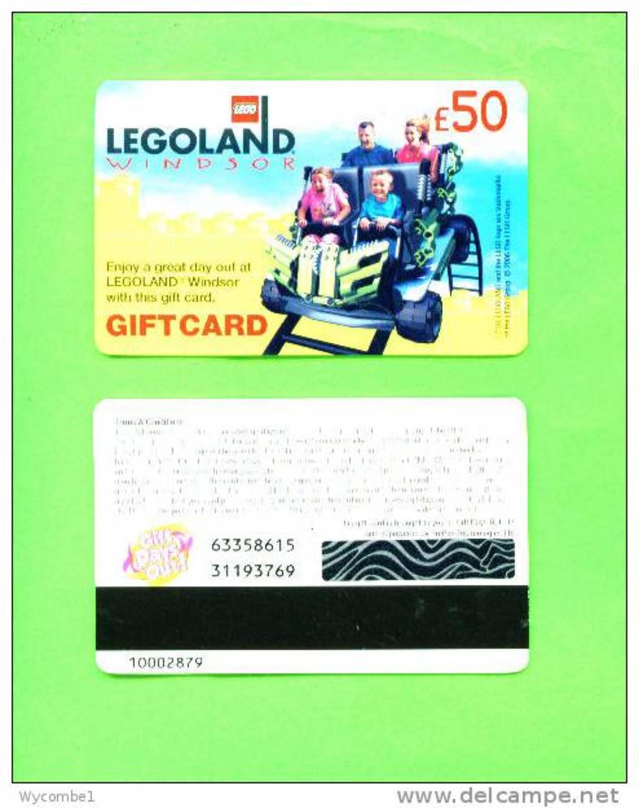 UK - Magnetic Gift Card/Legoland £50 - Unclassified