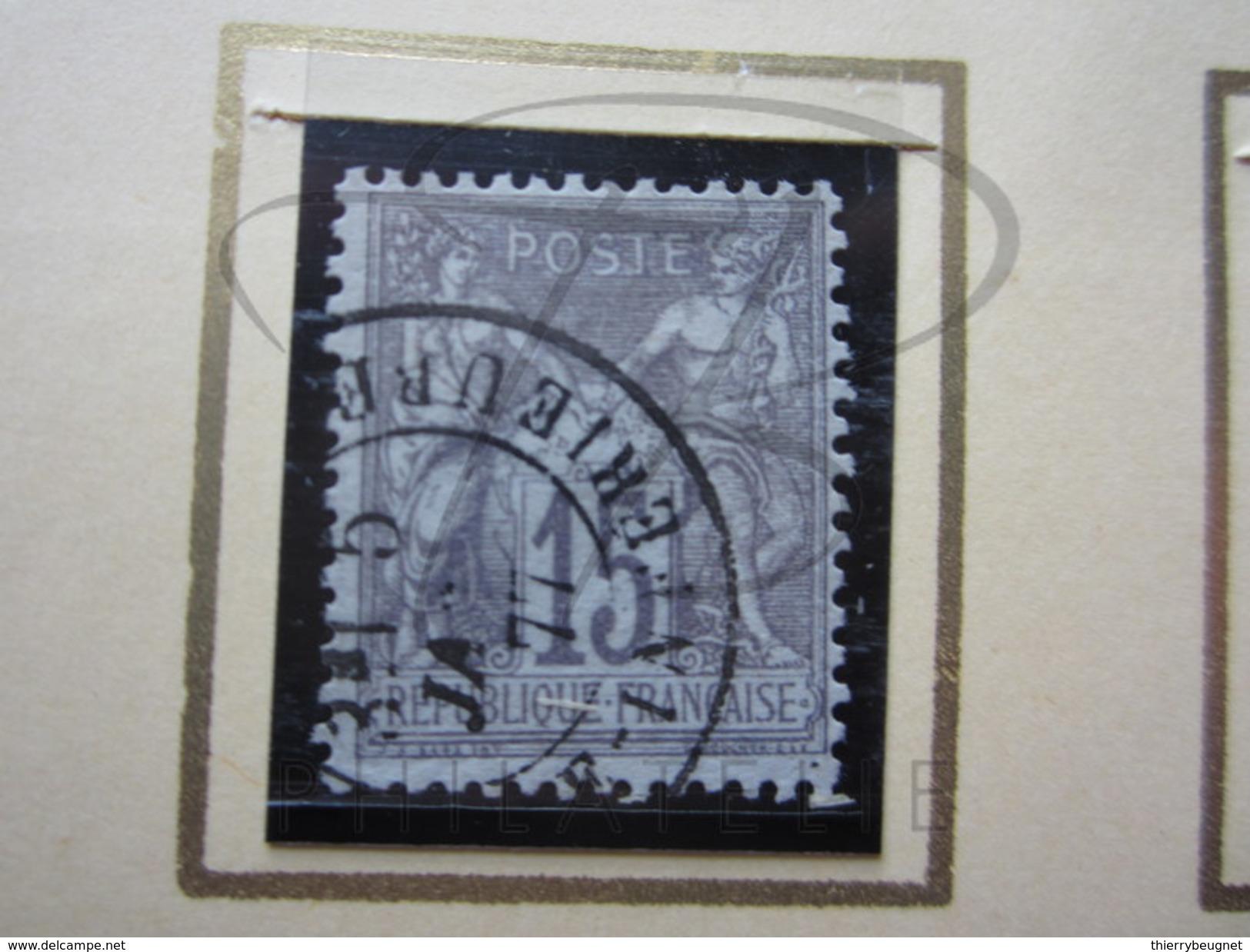 VEND BEAU TIMBRE DE FRANCE N° 66 , GRIS !!!! - 1876-1878 Sage (Type I)