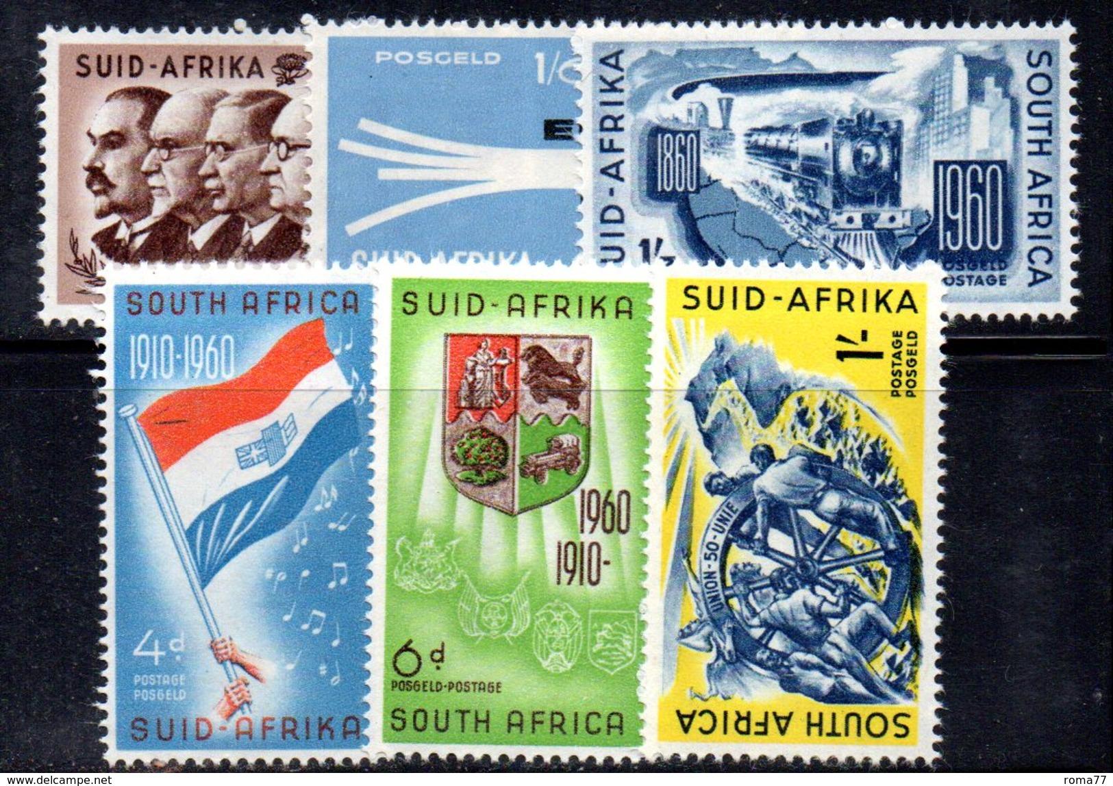 R577 - SOUTH SUD AFRICA  1960 ,   Yvert Serie N. 229/233    *** - Sud Africa (1961-...)