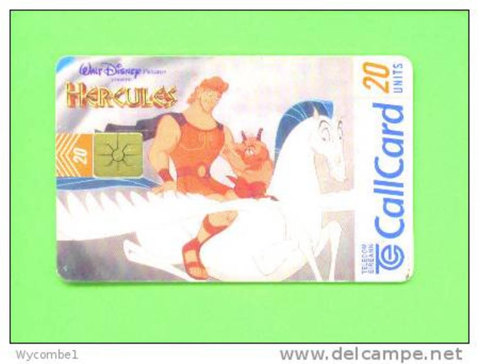 IRELAND - Chip Phonecard/Disney - Disney
