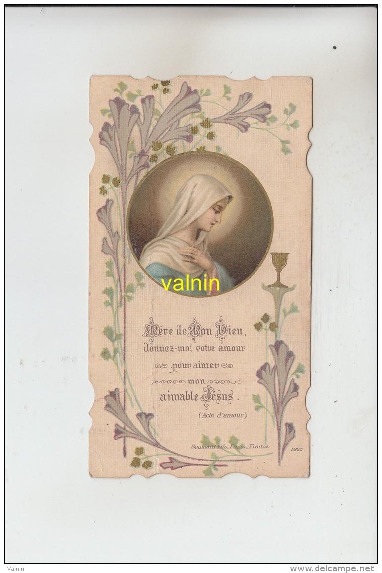 Armentieres  1928 Eglise Nd Du Sacré Coeur - Devotieprenten