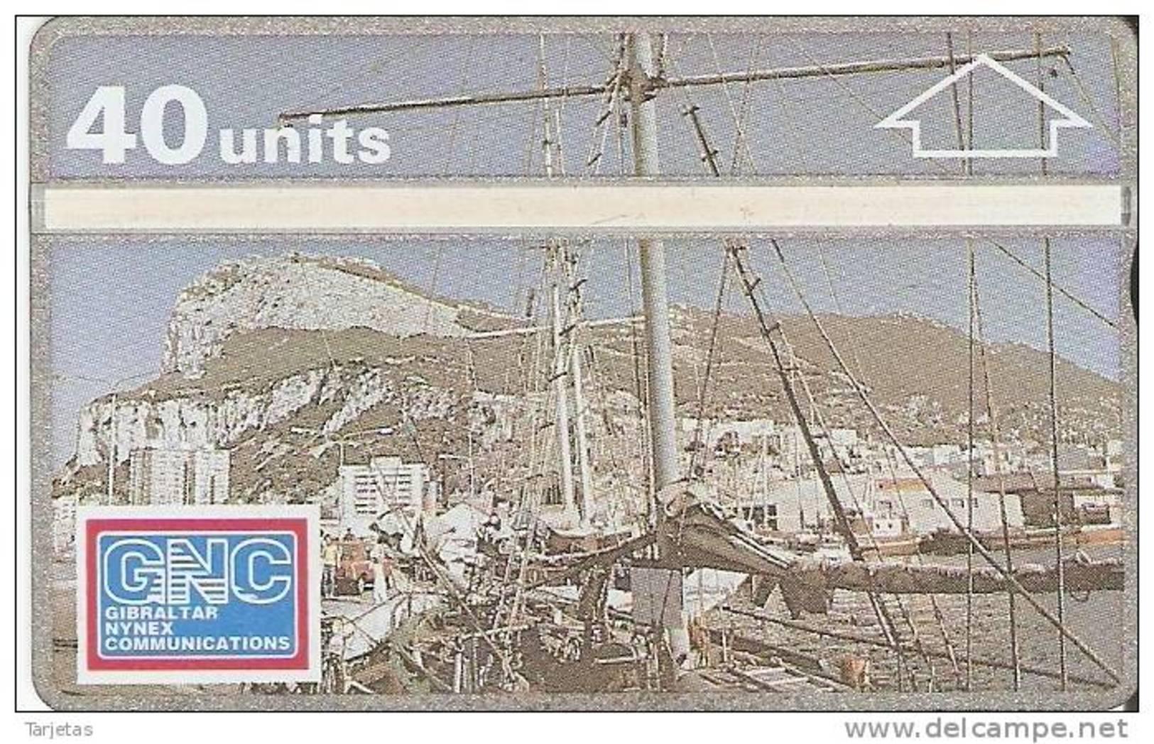 07 TARJETA DE GIBRALTAR DE MARINA BAY (NUEVA-MINT) - Gibraltar